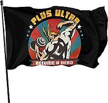 DJNGN Boku No Hero Flag 3x5 Piedi da Appendere