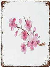 DJNGN Cherry Blossom Watercolor Retro pittura in
