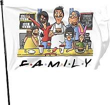 DJNGN Classic Bobs Burgers Familyflag Decorazioni