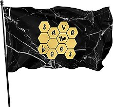 DJNGN Salva Le api Bandiera 3x5 Piede Bandiera