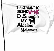 DJNGN Voglio Bere Vino coccolare la mia Alaskan