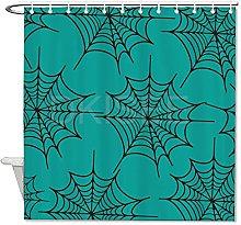 DKISEE - Tenda da doccia per Halloween, 150 x 180