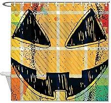 DKISEE - Tenda da doccia per Halloween, 180 x 180
