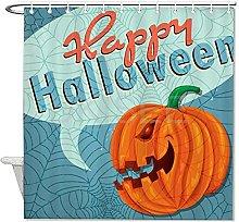 DKISEE - Tenda da doccia per Halloween, 180 x 200