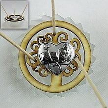 DLM26449 Profumatore Barattolo in Vetro Albero