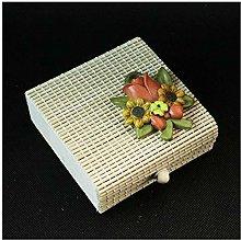 DLM30622 Scatolina Scatola Portaconfetti in Bambu