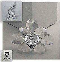 DLM30728 Icona Fiore in Cristallo con Cuore Calice