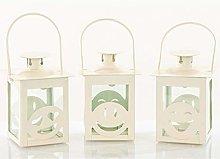 DLM31122 Lanterna Bianca Decorativa Faccine