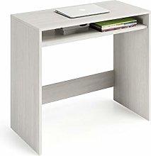 Dmora Consolle scrivania, con Un ripiano, 79 x 79