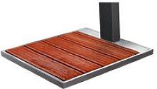 Doccia solare Ama Luxury Solaris SO2100 nera con