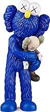 DOEUXS KAWS abbraccio cartone animato