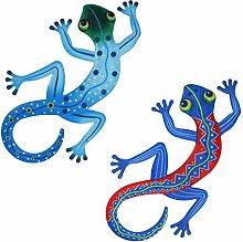 DOITOOL 2Pcs Gecko del Metallo di Arte della