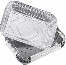 DOITOOL 60 Pezzi Vaschette Alluminio per Barbecue