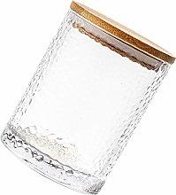 DOITOOL - Contenitore per cereali in vetro, con