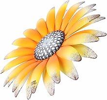 DOITOOL Decorazione da Parete Fiore in Metallo in