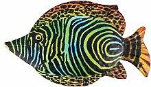 DOITOOL Decorazione da Parete Pesce in Metallo