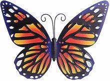 DOITOOL Farfalla in Metallo della Decorazione