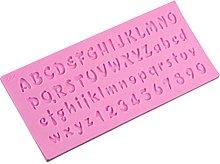 DOITOOL Stampo per torte con lettere inglesi in