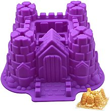 DOITOOL Stampo per torte in 3D con castello,