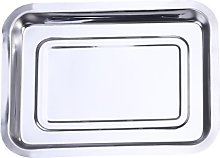 DOITOOOL - Teglia antiaderente in acciaio inox,