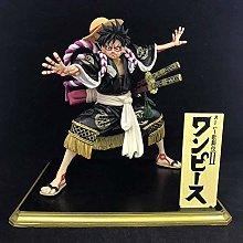Doll Height 18 5cm One Piece Kabuki Rufy Figura