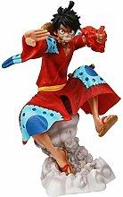 Doll Height 21cm One Piece Fire Fist Kimono Rufy
