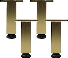 Dongyao 4 piedini regolabili per mobili, in lega