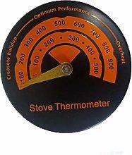 Donpow Termometro magnetico per stufe, termometro