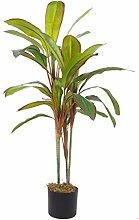 Dracaena - Pianta tropicale artificiale in vaso,