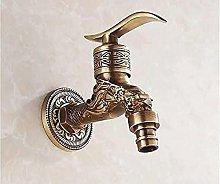 Drago di bronzo in stile europeo che intaglia