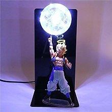 Dragon Ball Z Super Saiyan Lampada da tavolo