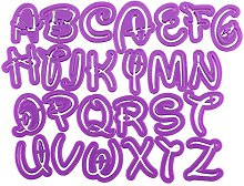 dragonaur - Stampo per torte con lettere
