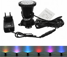 Drillpro - 1 set 1 luci LED RGB Luci subacquee per