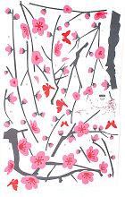 Drillpro - Adesivo murale albero fiore murales