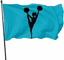 DRXX Bandiera cheerleader150x90cm Bandiera da