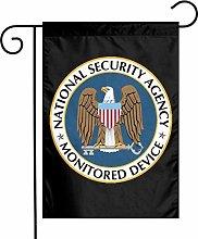 DRXX Bandiera da Giardino Decorazione Sicurezza