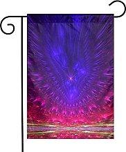 DRXX Bandiera da Giardino psichedelica Decorativa