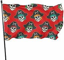 DRXX Bandiera del Teschio pirata150x90cm Banner