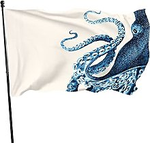 DRXX Bandiera Octopus150x90cm Banner per Esterni