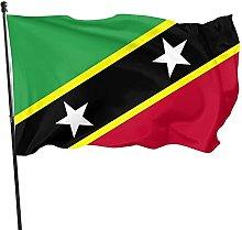 DRXX Bandiera Saint Kitts e Nevis150x90cm Bandiera