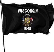 DRXX Bandiera Wisconsin 150x90cm