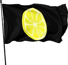 DRXX Bandiere da Giardino Giallo Limone 150 x 90