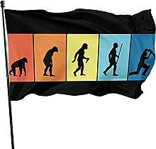 DRXX Evoluzione della Bandiera del Cricket, 150x90