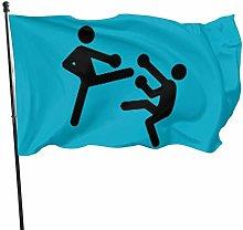 DRXX Kickboxing Flag150x90cm Outdoor Banner Yard