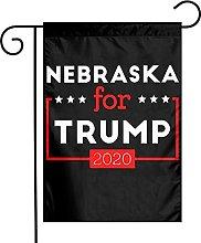 DRXX Nebraska for Trump Bandiera Americana per