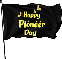 DRXX Pioneer Day Flag Happy Pioneer Day Outdoor