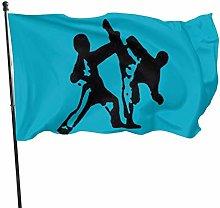 DRXX Taekwondo Arti Marziali Bandiera150x90cm