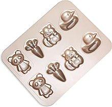 DSWHM - Stampo da forno per 8 tazze, motivo: