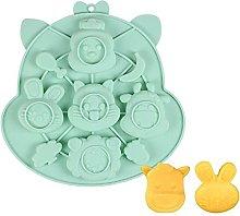 DSWHM Stampo da forno per bambini, antiaderente,