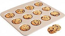 DSWHM Stampo da forno per biscotti, 12 tazze